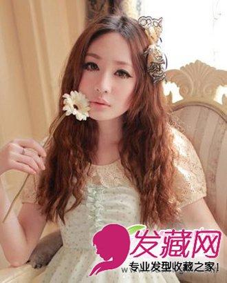 长发发型烫上浪漫唯美的大卷发发型 公主范卷发(5)图片