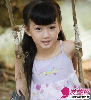 女生可爱发型 > 夏季小女孩发型图片