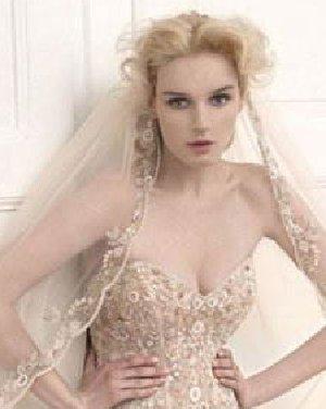 女孩唯美浪漫的新娘发型 唯美浪漫欧美风