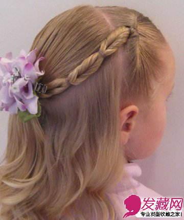 【图】妈妈必学的小女孩可爱编发发型图解教程