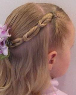 可爱 发型 小女孩/妈妈必学的小女孩可爱编发发型图解教程