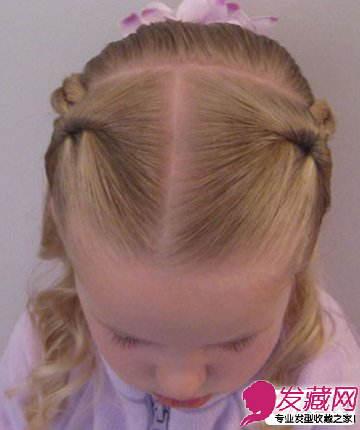 妈妈必学的小女孩可爱编发发型图解教程(9)