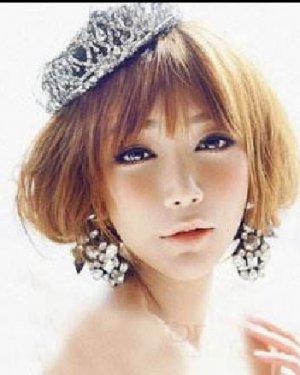 清新脱俗的新娘发型 2015最美新娘发型图片