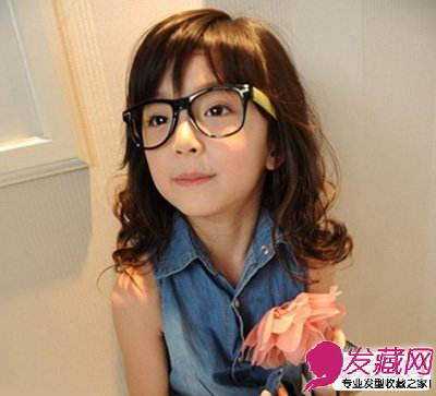 小女孩发型设计图片 萌味十足惹人爱(3)