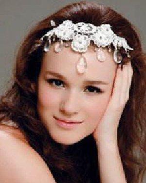 新娘发型设计图片 流露出女性高贵典雅的气质