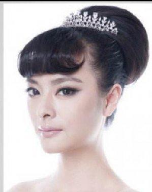 最迷人最优雅新娘发型 梦幻优雅做最美新娘