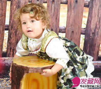 女儿童发型设计