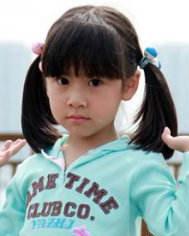 好看的小女孩发型  小女孩适合的发型图片