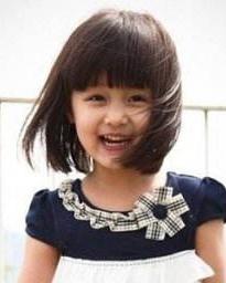 2015新款儿童发型 甜美可爱萌翻了