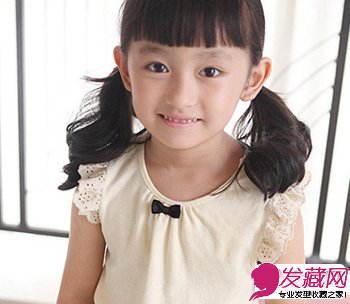 2015新款儿童发型 甜美可爱萌翻了(3)