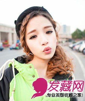 > 可爱俏皮的双马尾发型 最新减龄女生发型(6)  导读:刘海编发马尾扎