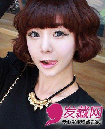 图】齐刘海的短发短发头发型a短发的波波头短发脸圆适合什么发型蘑菇图片