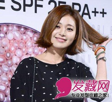 发型 女生/圆脸女生适合的发型 流行款中短发发型