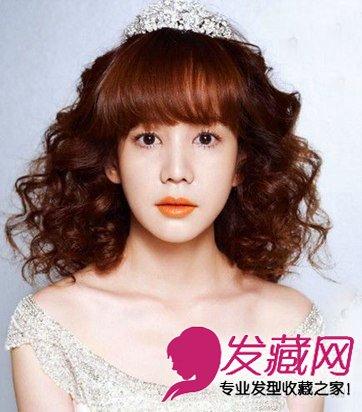 """> 韩式新娘发型 经典的盘发演绎了""""赫本式复古""""造型(2)  导读:公主"""