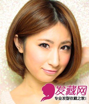 宽脸女生适合什么发型 人气款波波头短发发型推荐(3)图片