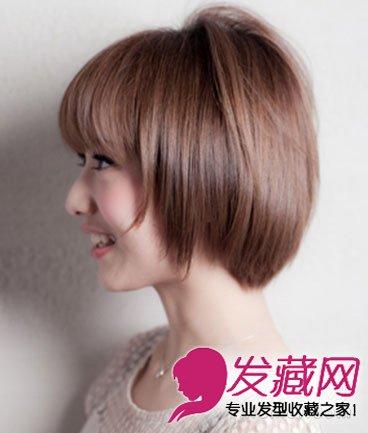 宽脸女生适合什么发型 人气款波波头短发发型推荐(6)图片