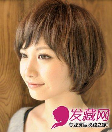 宽脸女生适合什么发型 人气款波波头短发发型推荐(8)图片