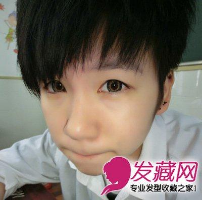 非主流萌男生皮肤_导读:非主流范短发发型 适合小脸男生的短发 萌系的可爱短发,利落的