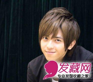 导读:刘海款男士短发发型 最适合脸长男生 清秀的小脸帅哥,不需要