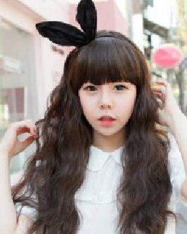 春夏韩式烫发发型 长发的蛋卷烫