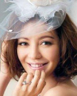 2015最新时尚新娘发型 甜美俏丽的短卷发发型