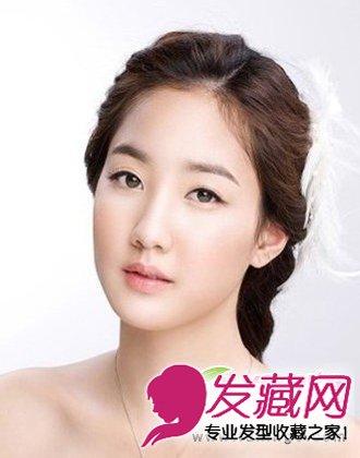 新娘发型   ,是2013年最为流行的新娘发型之一,将所有的头发