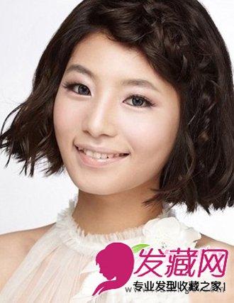编织新娘发型 刘海 中式