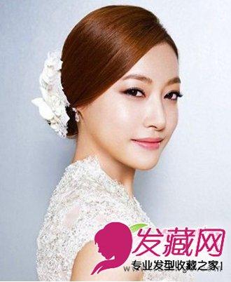 韩式高贵新娘发型 彰显优雅浪漫气质图片