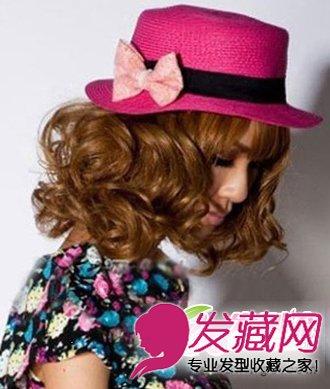 韩式蛋卷头烫发发型设计 减龄女生发型(6)