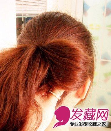 用发卡凹个时髦造型吧 →angelababy抱猫咪卖萌 学猫耳朵扎发美过她图片