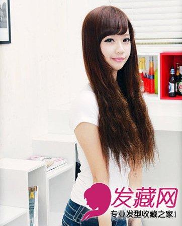 齐刘海的波波头短发发型 轻松实现逆生长