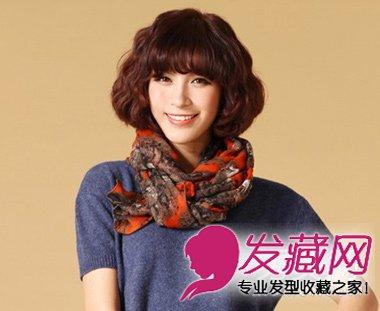 女生 发型 适合/分享圆脸女生适合的发型 修颜瘦脸变小脸