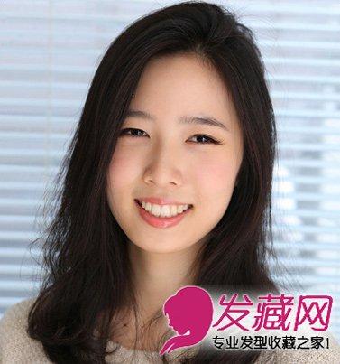 女生实用烫发发型解析 →中长发怎么烫好看 蛋卷头改良齐刘海的梨花图片