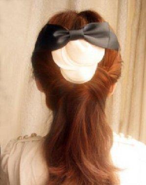 小清新范甜美马尾辫扎发 非常清新的马尾辫发型