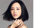 张歆艺最新优雅妩媚女人味发型