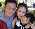 吴启华老婆石洋子与女儿近照曝光 发型甜美气质优雅