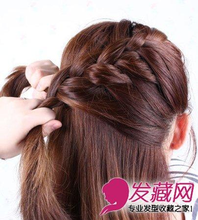 发型网 发型diy 编发教程 > 马尾怎么扎好看 侧马尾扎发教程(4)  导读图片