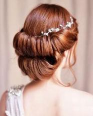 超美的新娘发型 打造最美新娘