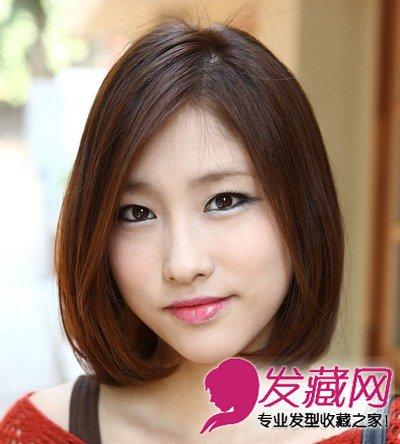 百搭修颜波波头短发发型 适合各种的脸型(5)