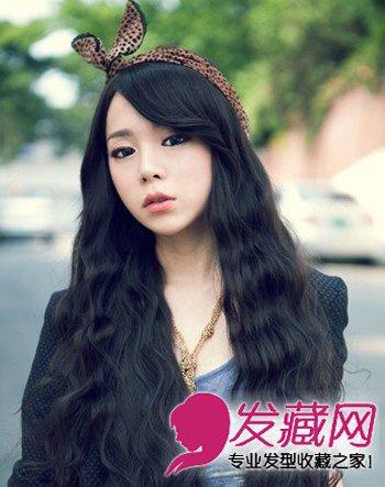 齐刘海的短发泡面头 圆脸发少都适合(3)