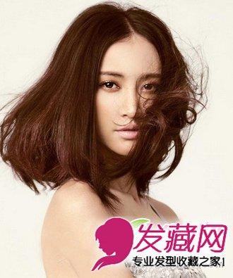 【图】张歆艺中长发发型