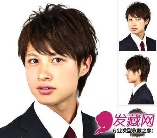 魅力成熟范男士白领发型 成熟的男人气息让美眉心动(4)