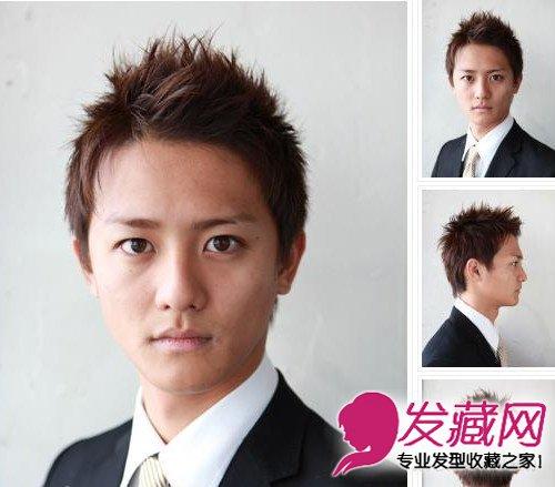 魅力成熟范男士白领发型 成熟的男人气息让美眉心动(8)
