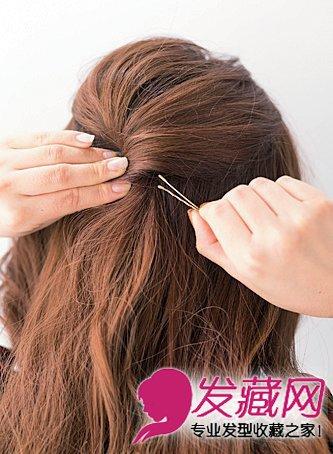 各种发夹的用法图解