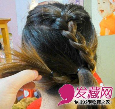 发型网 发型diy 编发教程 > 学生马尾怎么扎好看 麻花辫马尾扎发教程