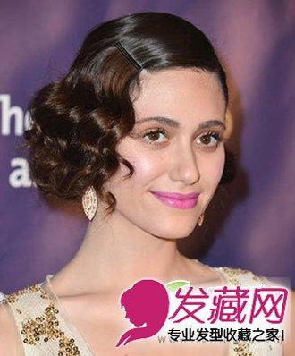 时尚发型 > 公主头发型能够让女生尽显公主范儿(2)  导读:欧美复古