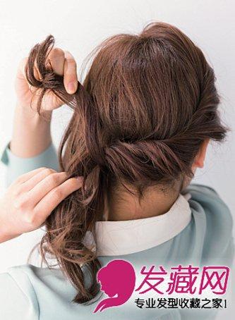 女生发型 马尾发型 > 简单易学甜美马尾辫扎发教程(3)  导读:2,在步骤