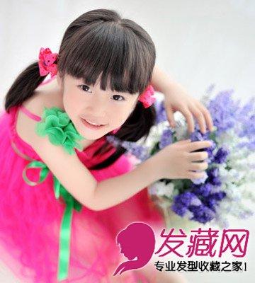 最新小女孩发型图片 打造可爱小公主