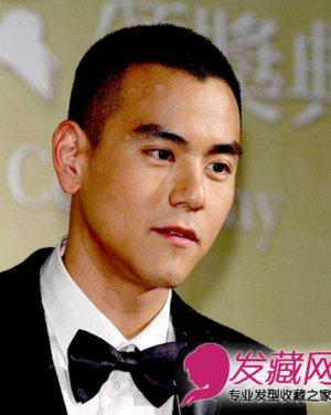 黄晓明彭于晏示范 型男范板寸头发型