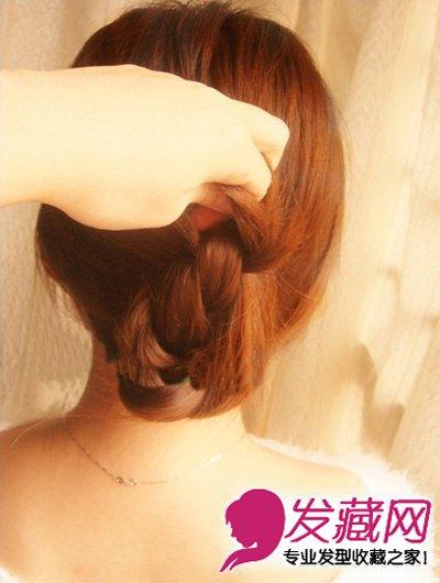 夏季长发发型扎法 简单的韩式编发(7)